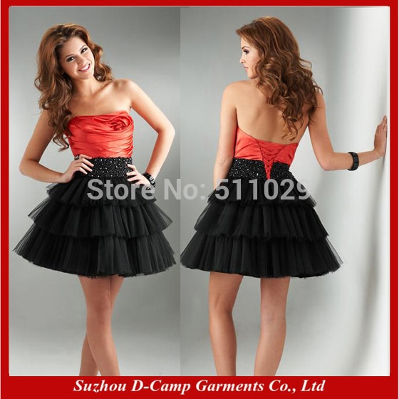 FREE SHIPPING OD 290 Fancy draped bodice corset lace up back formal short party dress patterns