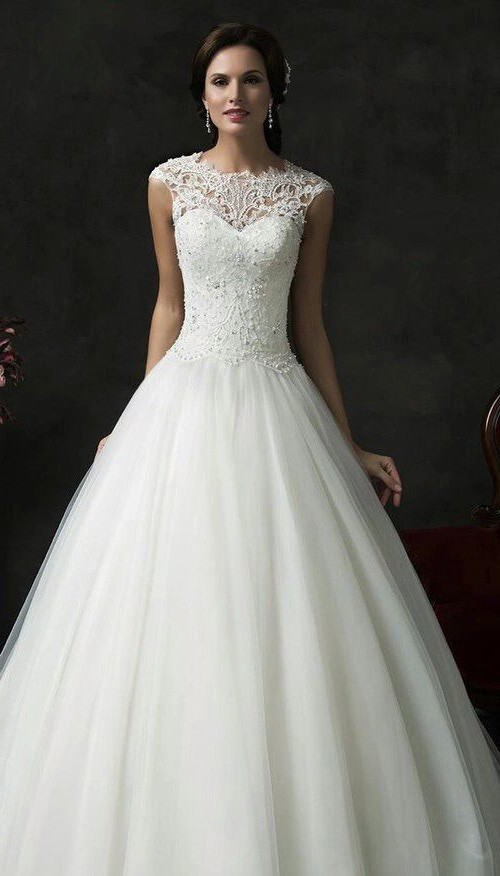 designer wedding gowns lovely polka dot wedding gown beautiful i pinimg 1200x 89 0d 05 890d