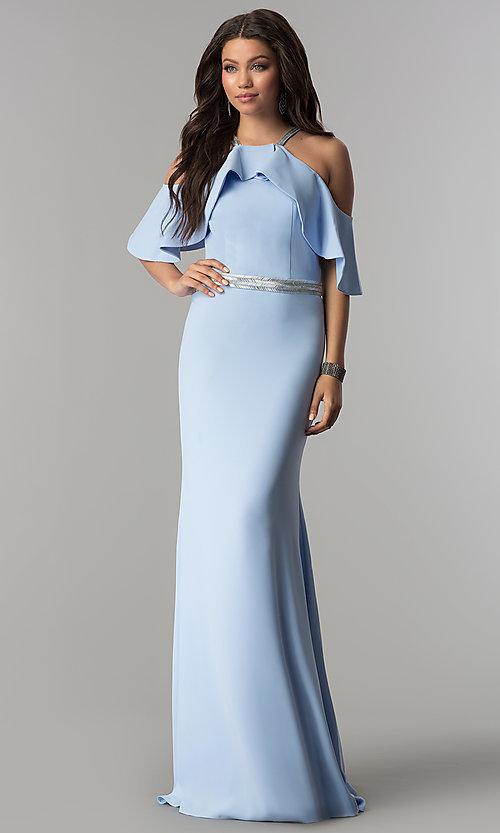 light blue dress OD 4513 g