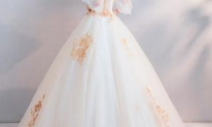27 Lovely Color Embroidered Wedding Dress