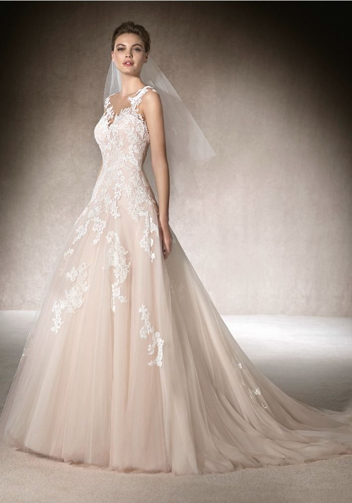 aline wedding gowns elegant st patrick