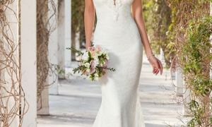20 Beautiful Column Wedding Dress