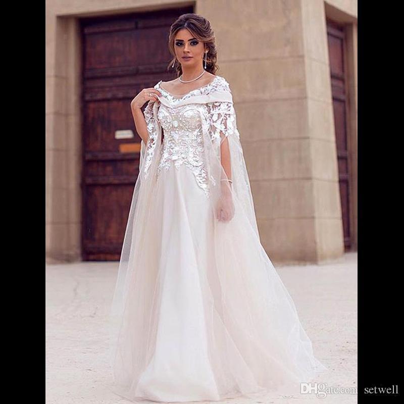 modest saudi arabic wedding dresses scoop