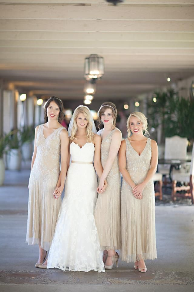 Coral Gables Wedding Dresses Unique Lovely Gold Dresses for the Bridesmaids and A Gold Belt for