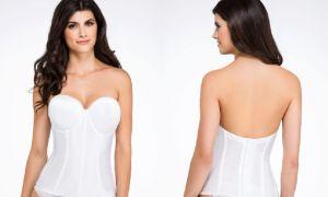 26 Unique Corset Bras for Wedding Dresses