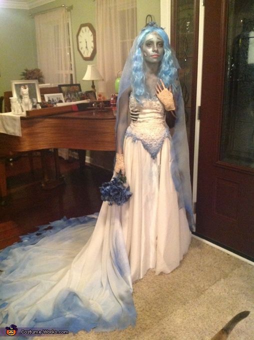 Costumes Wedding Dress Elegant Emily From the Corpse Bride Halloween Costume Contest at