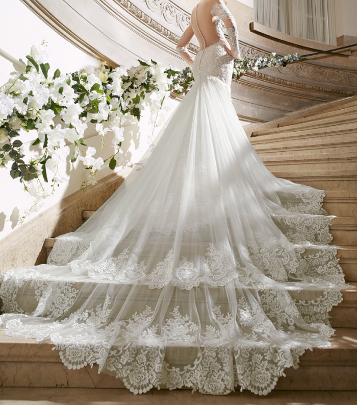 Court Train Wedding Dress Luxury Wedding Dress Trains which Style is Right for You