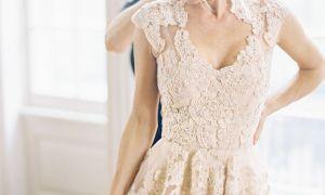 20 Luxury Cream Lace Wedding Dress