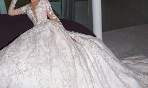 26 Luxury Crystal Design Wedding Dresses