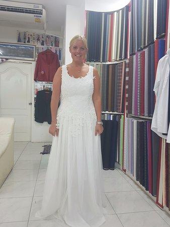 wedding dress by harry