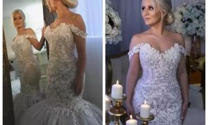 25 Lovely Custom Wedding Gowns