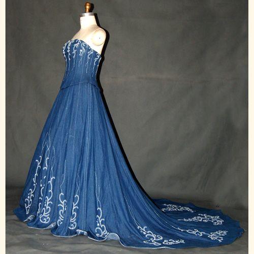Denim Wedding Dresses Elegant Denim Wedding Denim In 2019