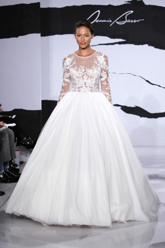 wedding dress fall 2012 dennis basso for kleinfeld bridal 24 full