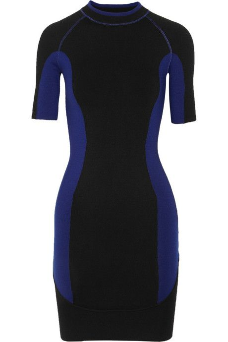 Designer Dress Brands Inspirational Alexander Wang Stretch Wool Blend Mini Dress