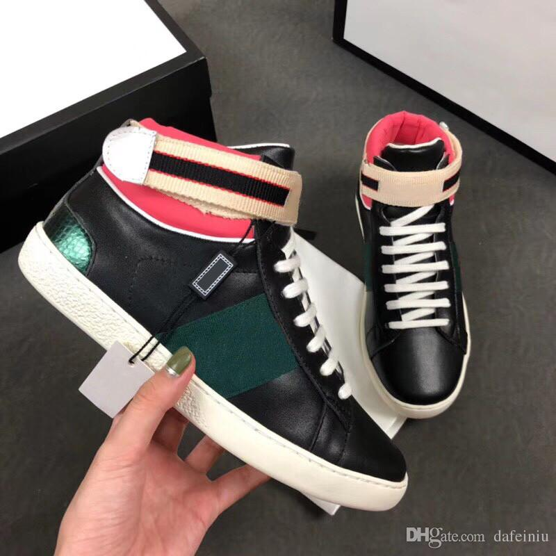 Designer Dress Brands Luxury Designer Women S Fashion Sports Shoes Sneakers Genuine Leather Luxury Branded La S Riding Boots High Quality Free Shipping Color Mixing