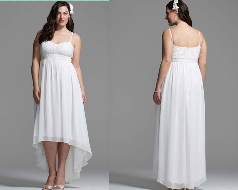 2016 new arrival plus size wedding dress