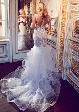 Calla Blanche Bridal 18 Chelsea Back Designer Wedding Dresses I Do I Do Bridal Studio New York New Jersey