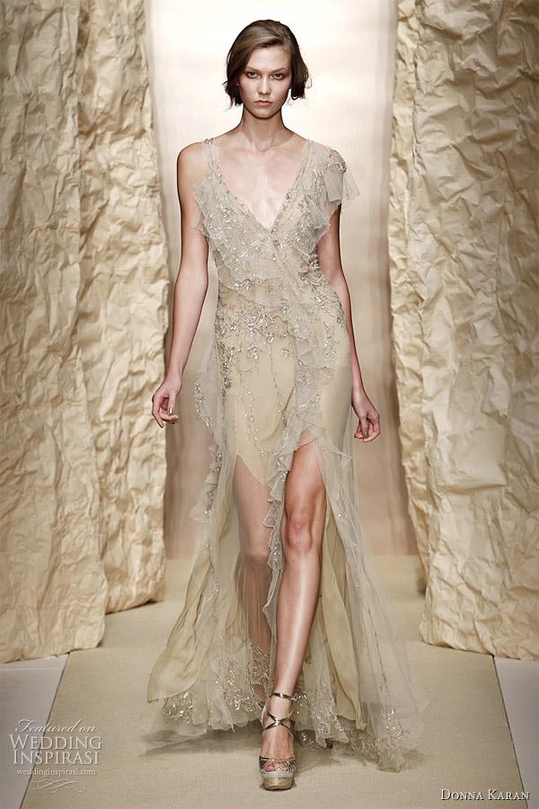 donna karan spring 2011 gown