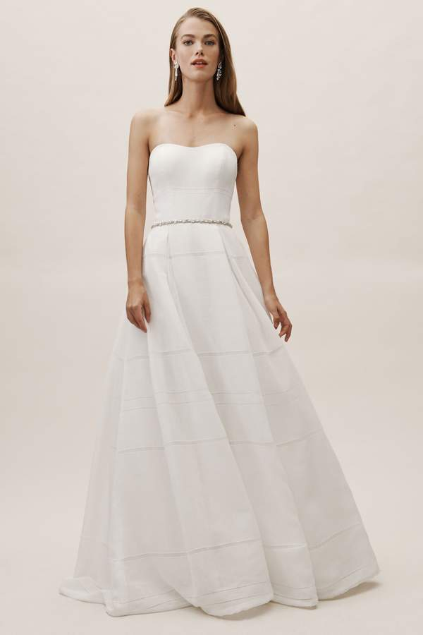 Whispers & Echoes Bellevue Linen Gown