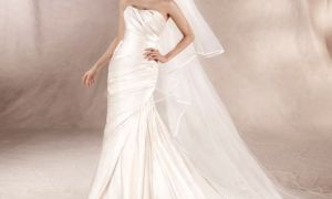 24 Fresh Draping Wedding Dresses