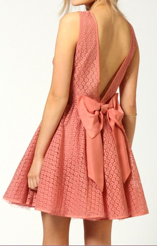 Dress Back Best Of Adorable Bow Back Dress Style