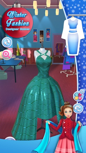 Dress Designer App Lovely Winter Designer Spiele Entwerfen Sie Kleidung Im App Store
