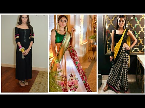 Dress Designer Names Unique Videos Matching Sana Sayyad Aka Drishti Black Dress