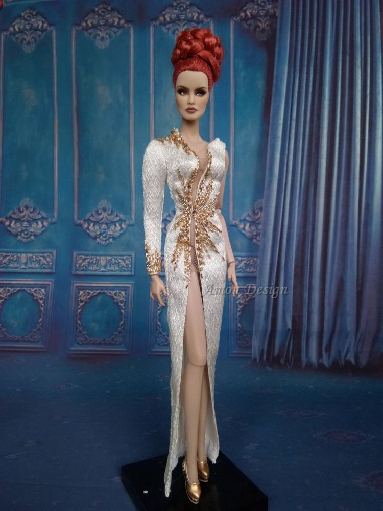 Dress Details Inspirational Details About Amon Design Gown Outfit Dress Fashion Royalty