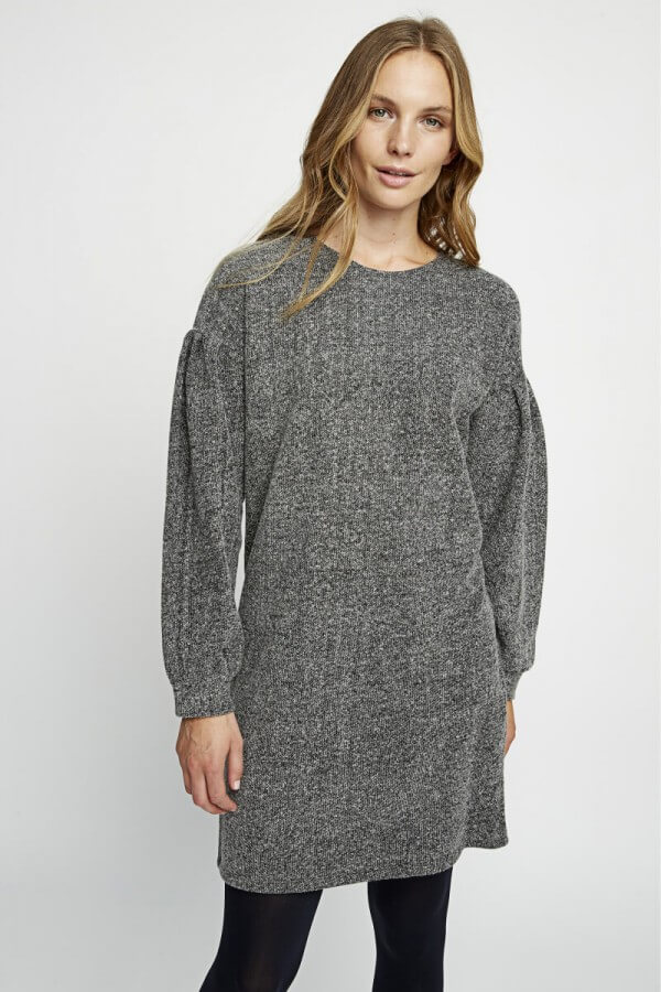 people tree fleece tunic dress annabel gray lov 1 600x900