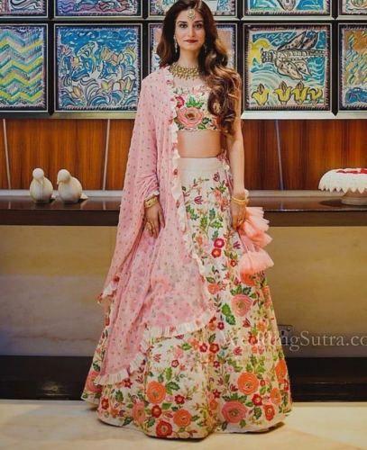 Dress Details New Indian Lehenga Choli Ethnic Bollywood Wedding Bridal Party