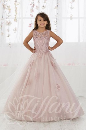 tiffany princess lace up back pageant dress 01 544