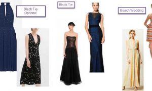 28 Elegant Dresses for Black Tie Wedding