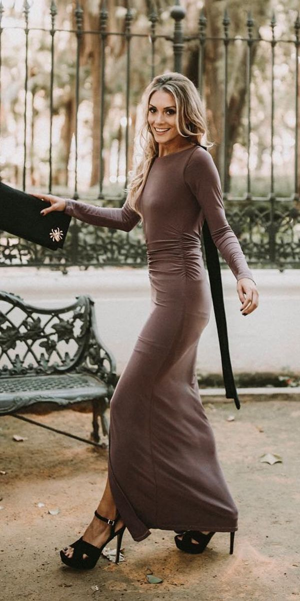 Dresses for Fall Wedding Luxury 21 Gorgeous Fall Wedding Guest Dresses Elisab
