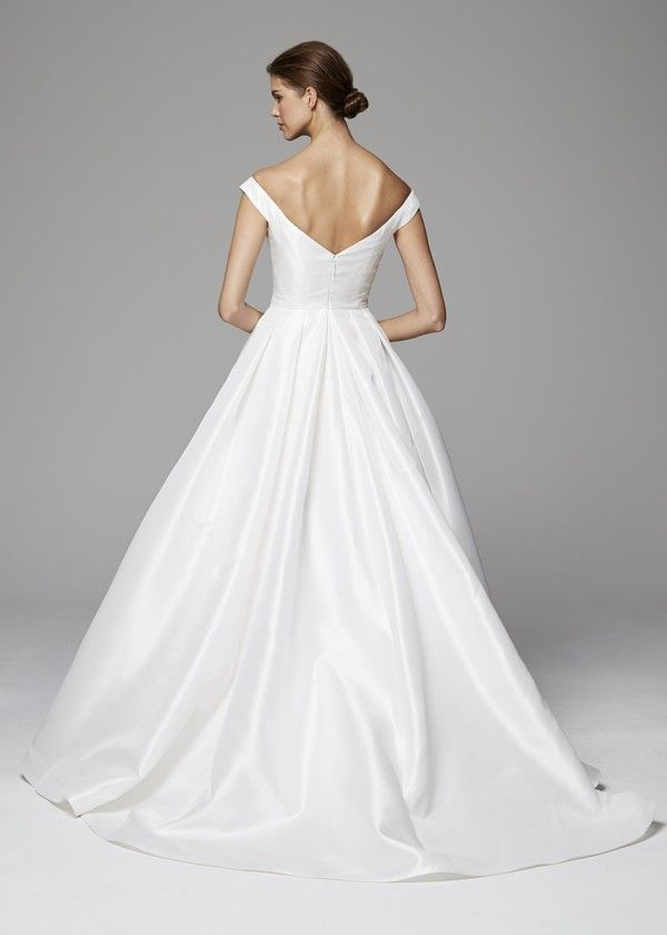 Dresses for Fall Wedding Luxury Back Of Sloane Wedding Dress From the Anne Barge Fall 2018