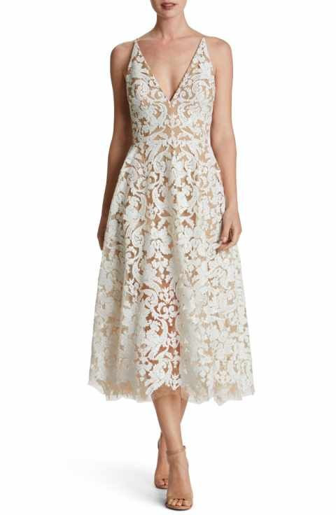 lace dresses for wedding guests dress the population blair embellished fit and flare dress attractive