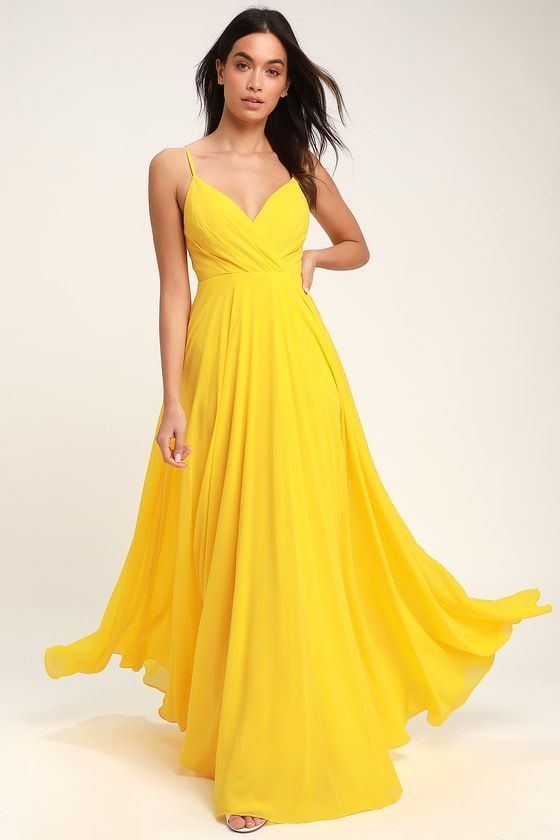 maxi dress wedding guest awesome yellow maxi dress for a wedding guest or bridesmaid of maxi dress wedding guest