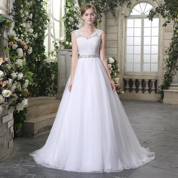 Dresses to Go to A Wedding Unique Discount New Designer Vintage Lace Wedding Dresses with buttons A Line Modest Cape Sleeves V Neck Country Garden formal Bridal Wedding Gowns Wear