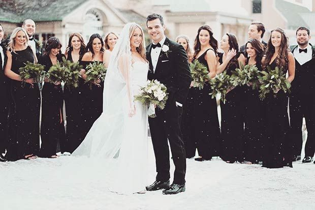 Dresses to Wear to A Winter Wedding Fresh 17 Bridesmaid Style Ideas for A Winter Wedding
