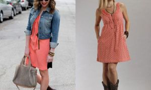 22 Beautiful Dresses to Wear with Cowboy Boots to A Wedding