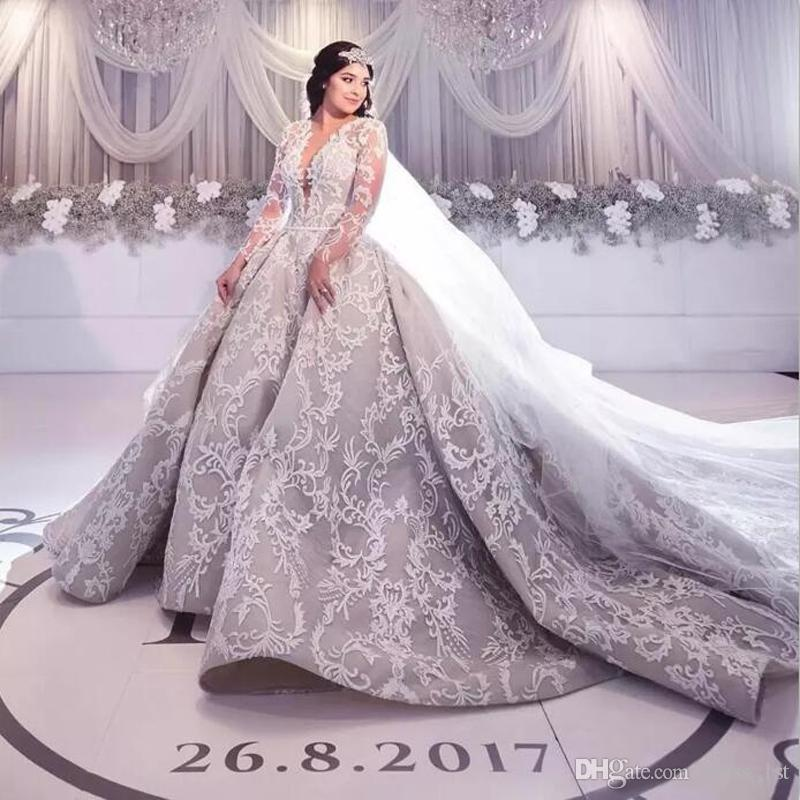 cheap wedding gowns in dubai lovely discount 2017 luxury lace long sleeve wedding dresses dubai arabic