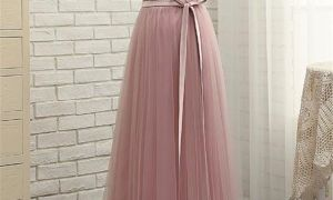 26 Unique Dusty Rose Gown