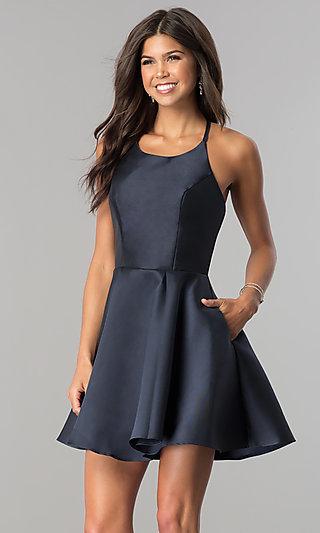 midnight b dress AL 3703 b