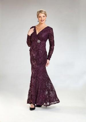 ursula of switzerland missy long sleeve formal dress 01 690