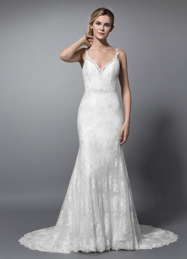 Elopement Wedding Dress Awesome Azazie Nicholette Bg