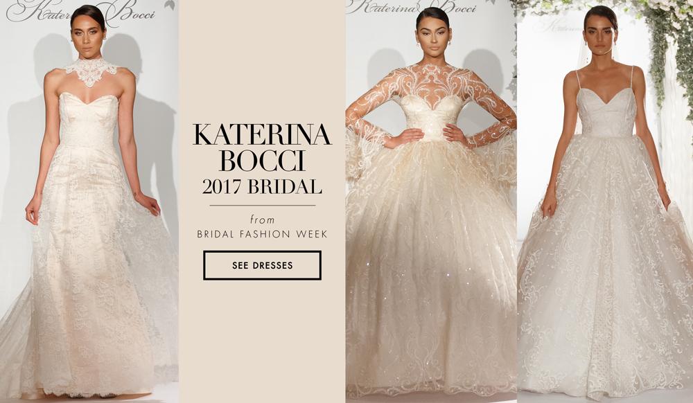 Elopement Wedding Dress Awesome Bridal Week Wedding Dresses From Katerina Bocci 2017 Bridal