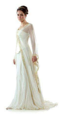 Elvish Wedding Dresses Awesome Vintage Celtic Wedding Gown