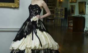 23 New Emo Wedding Dresses