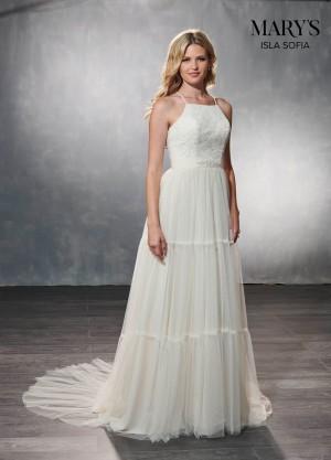 marys bridal mb5001 open back wedding dress 01 546