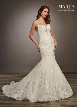 marys bridal mb4061 strappy back wedding dress 01 677