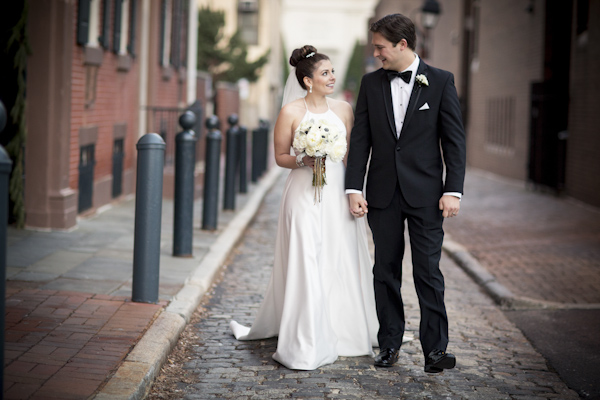 black white gold silver new years classic wedding asya photography philadelphia